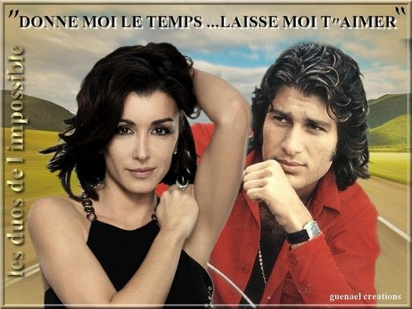 jenifer et mike brant    -mes duos de l impossible