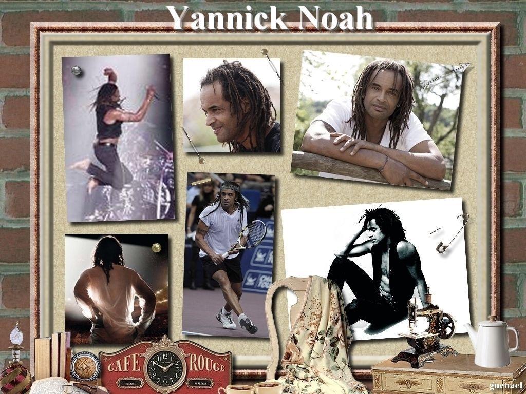 yannick noah. Black Bedroom Furniture Sets. Home Design Ideas